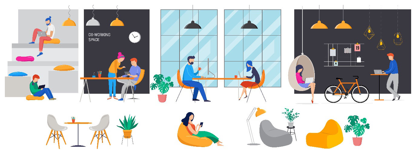 3 предимства на споделеното място за работа